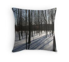REDREAMING MAPLES Throw Pillow
