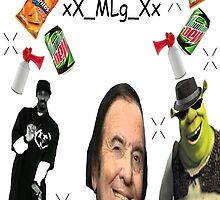 MLG SNOOP SHREK ILLUMINATI  by Norbsey