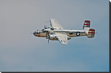 B-25 Mitchell Bomber by Andy Mueller