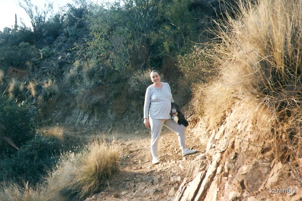 Pregnant Hiker by karen66