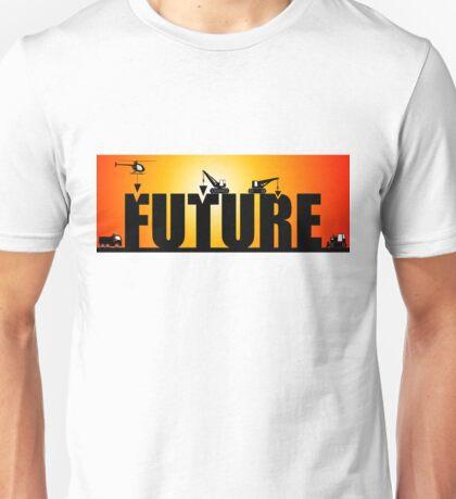 building the future work in progress Unisex T-Shirt