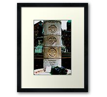 Belfast US WW2 Memorial Framed Print