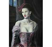 Dark Lady Photographic Print