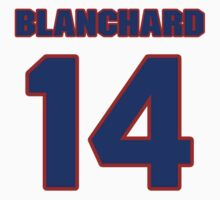 National football player Cary Blanchard jersey 14 by imsport
