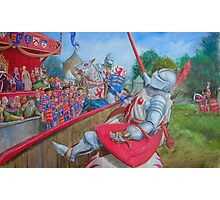 Joust Photographic Print
