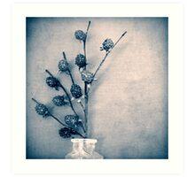 Sweet Blue Art Print