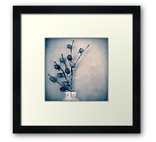 Sweet Blue Framed Print