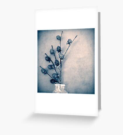 Sweet Blue Greeting Card