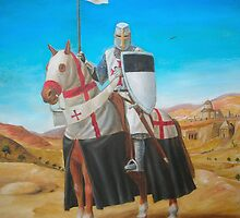 Templar Standard Bearer by dashinvaine