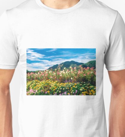 Flatirons And Flowers Unisex T-Shirt