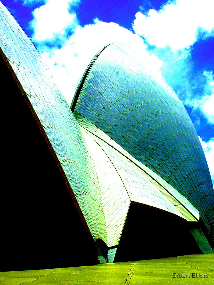opera house by Stuart Elliott