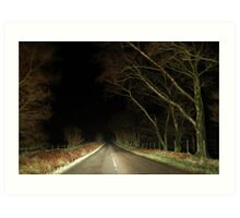Road To Nowhere... Art Print