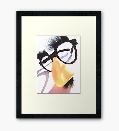 Comedy Genius Framed Print