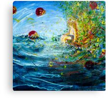 Planet Dreams for the Boy on the Edge Canvas Print