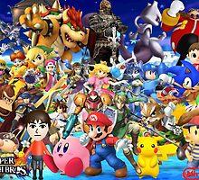 Super Smash Bros. by alecbeggs