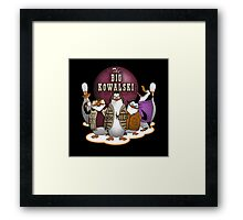 The Big Kowalski Framed Print