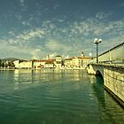 The Bridge at Trogir, Croatia  by Rob Hawkins