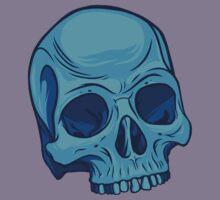 Skull - Cyan Kids Clothes