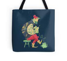 dude knits Tote Bag