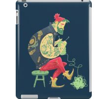 dude knits iPad Case/Skin