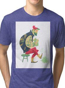 dude knits Tri-blend T-Shirt