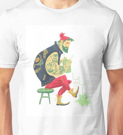 dude knits Unisex T-Shirt