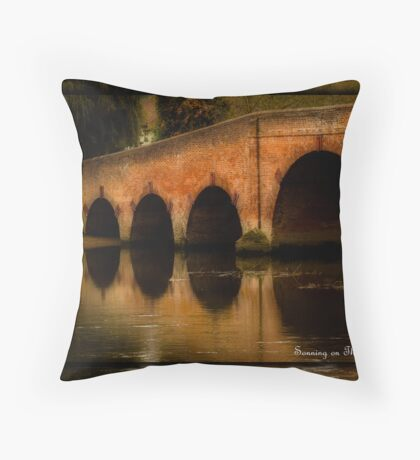 SONNING ON THAMES ENGLAND Throw Pillow