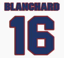 National football player Tom Blanchard jersey 16 by imsport