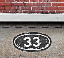 The Number 33 © by Ethna Gillespie