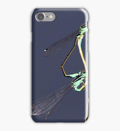 Common Blue Damselfly iPhone Case/Skin