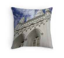 St Andrew Cathedral Throw Pillow