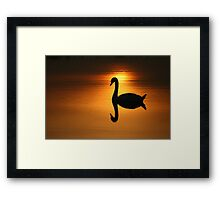 On Golden Pond  Framed Print