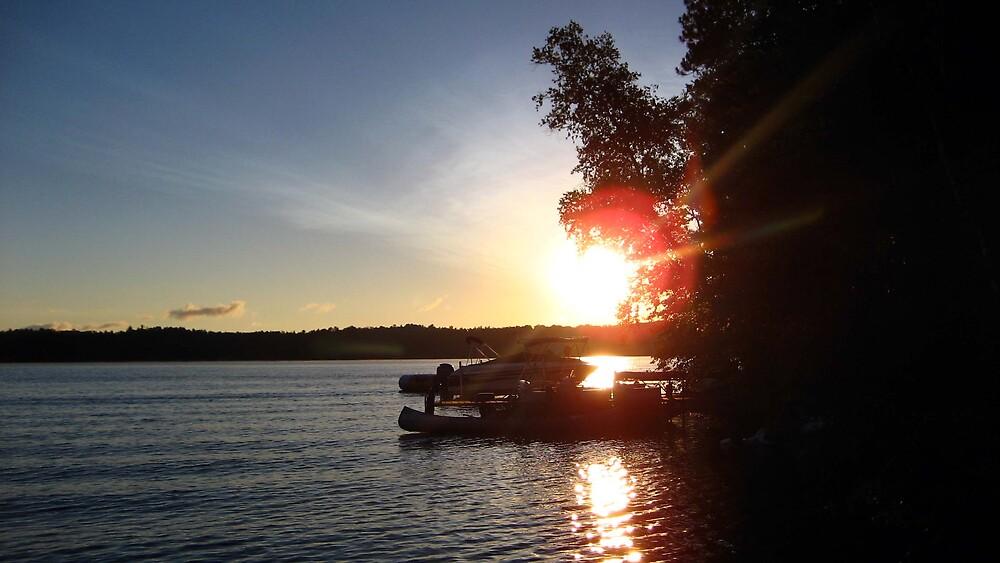 Blue Lake Sunrise by LizzyM
