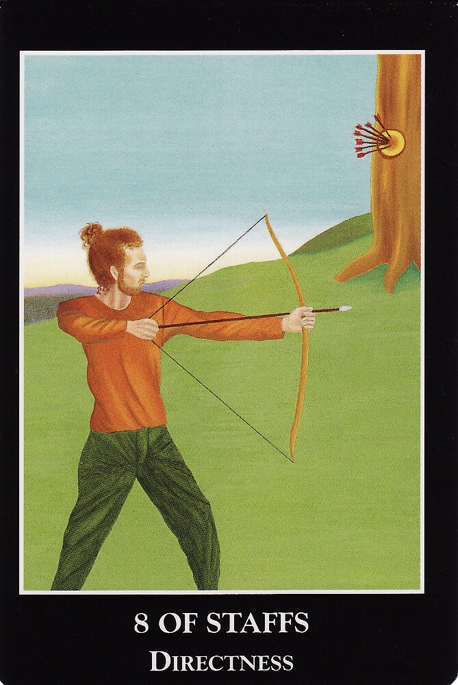 8 of Staffs - Directness by Lisa Tenzin-Dolma