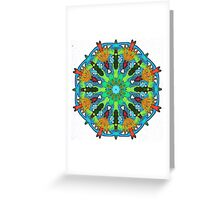 Surrealistic Pillow Greeting Card