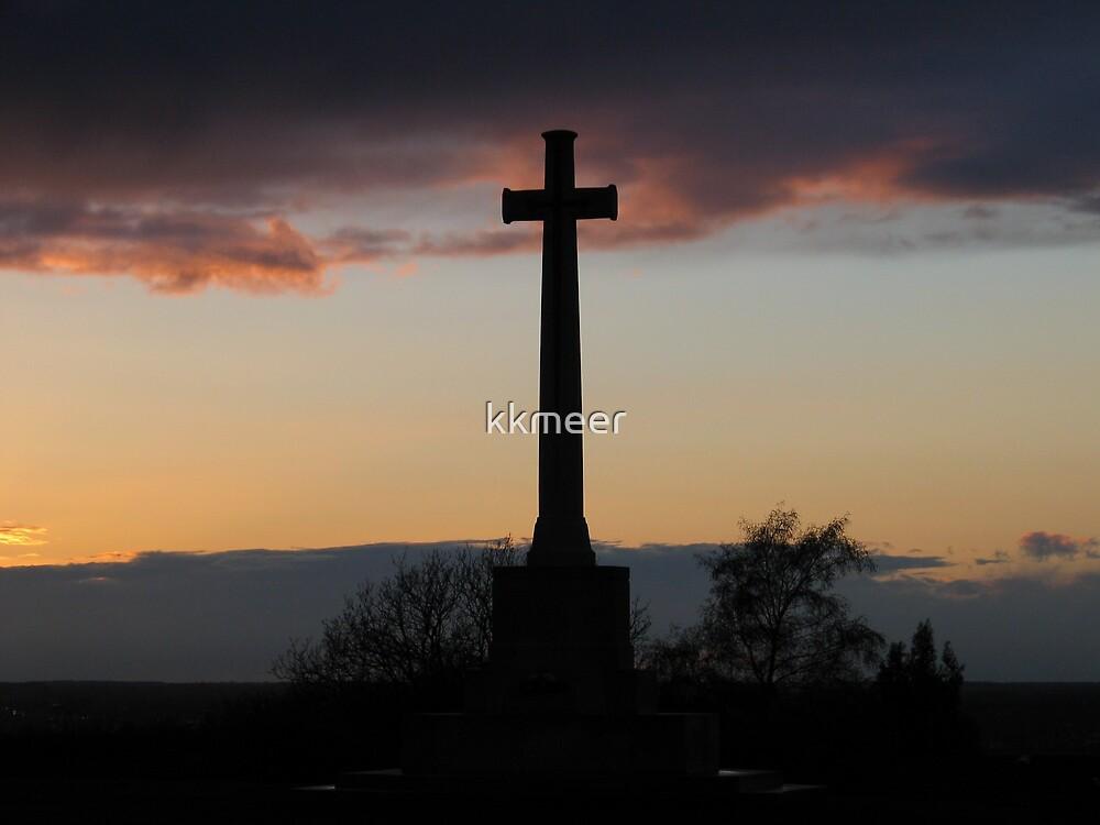 Cross by sunset by kkmeer