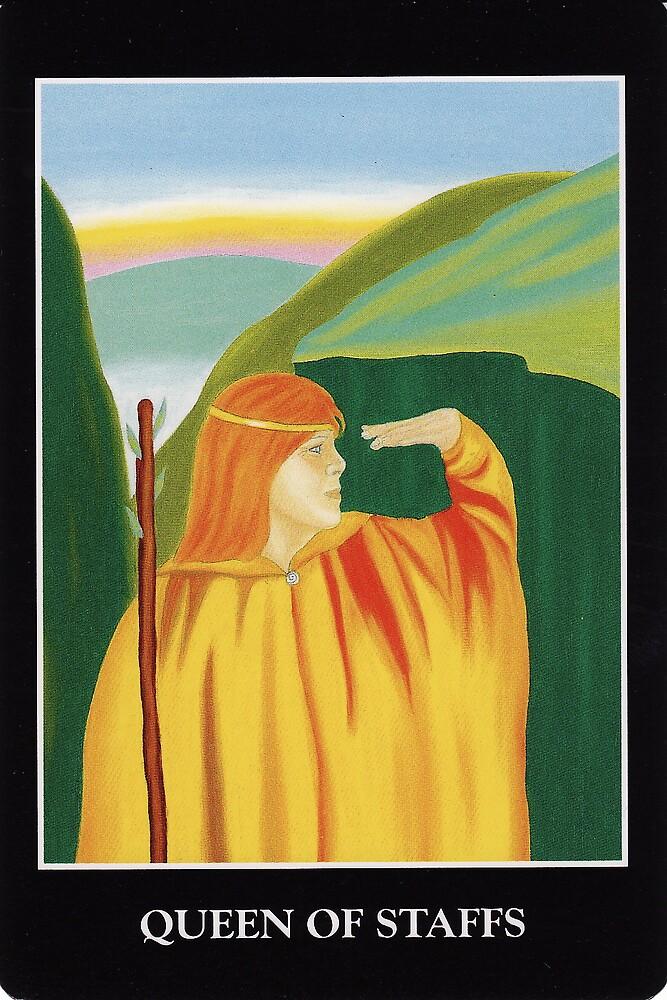 Queen of Staffs by Lisa Tenzin-Dolma