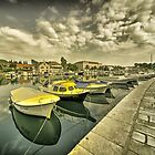 Stari Grad Reflections  by Rob Hawkins