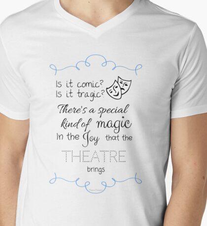 The Joy Of The Theatre Mens V-Neck T-Shirt