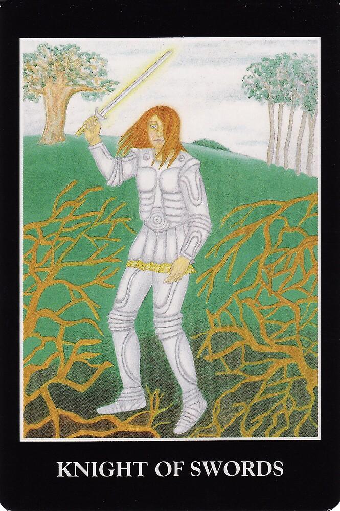 Knight of Swords by Lisa Tenzin-Dolma