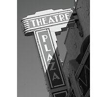 Theatre Plaza Photographic Print