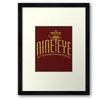 Nine Eye Framed Print