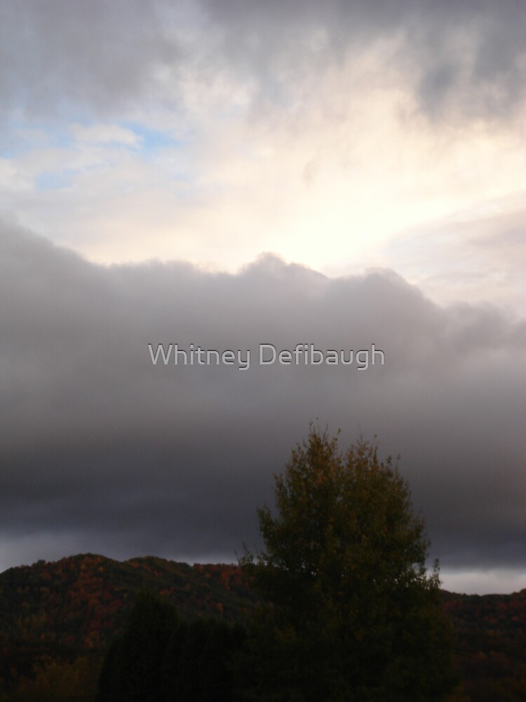 storm on a different horizon by Whitney Defibaugh