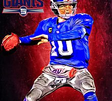 NFL New York Giants by Dan Snelgrove