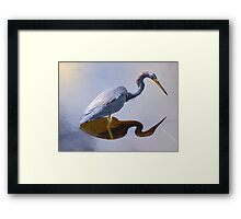 Just a Pause to Think Framed Print