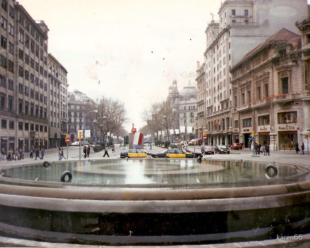 Madrid Fountain by karen66