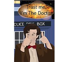 Doctor Who - Matt Smith Photographic Print