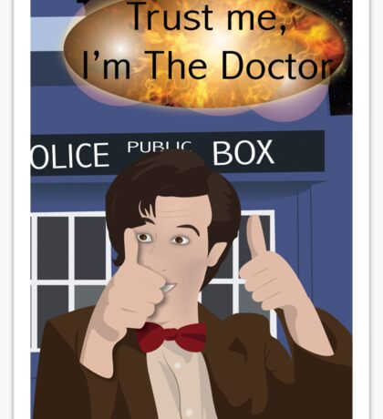 Doctor Who - Matt Smith Sticker