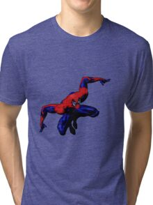 Friendly Neighborhood Spiderman Tri-blend T-Shirt
