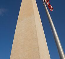 Washington monument by Anne Scantlebury